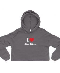 Love Jiu Jitsu Women's Cropped Hoodie 9