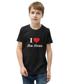 Love Jiu Jitsu Youth T-Shirt 5
