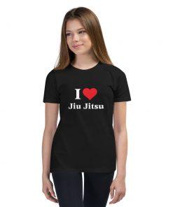 Love Jiu Jitsu Youth T-Shirt 6