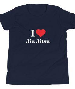Love Jiu Jitsu Youth T-Shirt 7